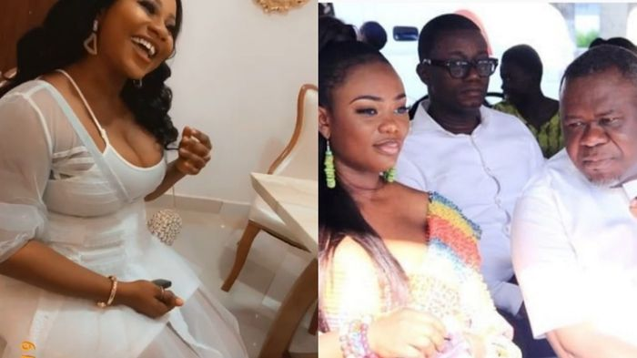 Fans Console Akua GMB After Her Husband, Dr Kwaku Oteng, Married A 5th Wife
