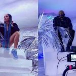 Medikal & Sister Derby Likely To Rekindle Their Love As They Secretly Shoot A Music Video