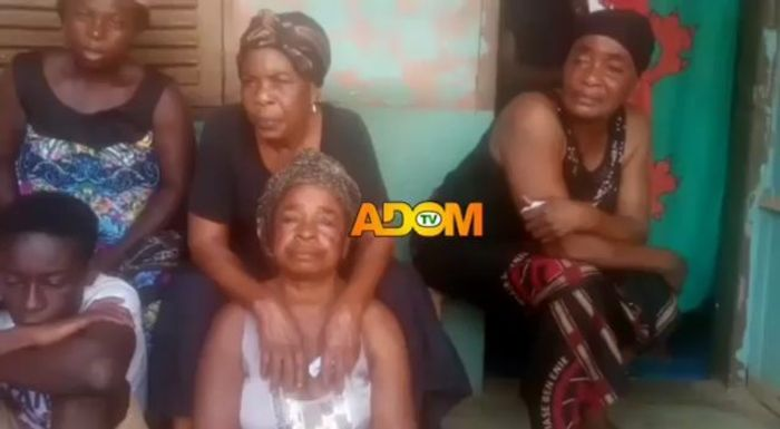 Sad Video Of Kofi B's Family Members Weeping & Mourning Him Pops Up