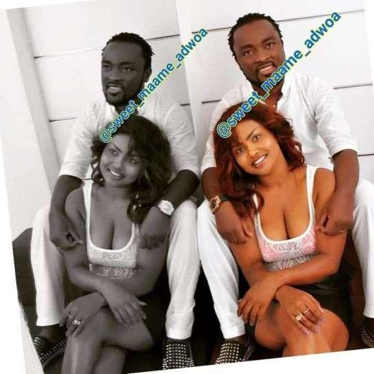 Throwback Photos Of Nana Ama McBrown's Husband, Maxwell Mensah In Dreadlocks Go Viral