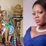 Mzbel Subtly Says Baby Maxin Doesn't Resemble Nana Ama McBrown & Husband, Maxwell Mensah