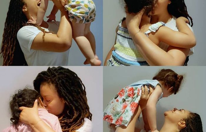 Nadia Buari Beautifies Instagram With Photos Of Herself Adorable Baby Girl On Val's Day