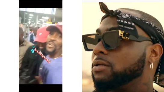 Davido Slaps The Chest Of A Fan Who Attempted Taking A Selfie With Him