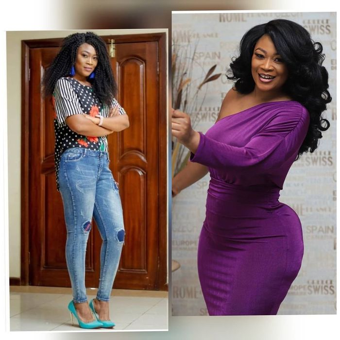 Abena Anokye - PHOTOS: Abena Boakye Of TV3's GMB Fame Busted & Trolled For Inflating Her Flat Butts With Foams