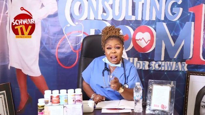 Afia Schwar's Schwar FM Has Collapsed; Claims She's Now A Health Expert