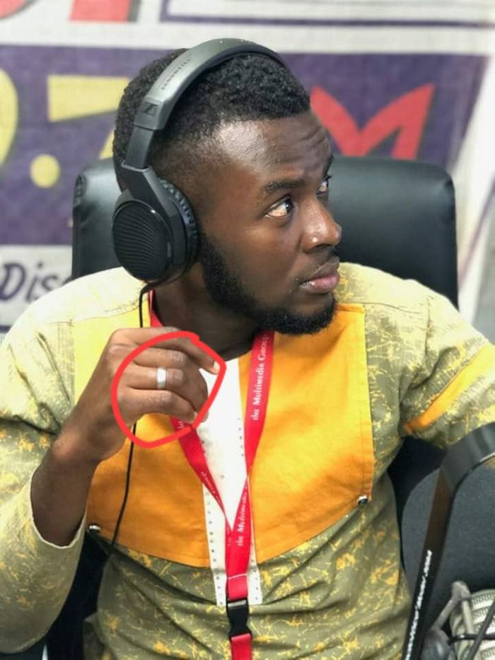 JoyNews Reportedly Kicks Komla Adom Off-air Over His Fashion Rings