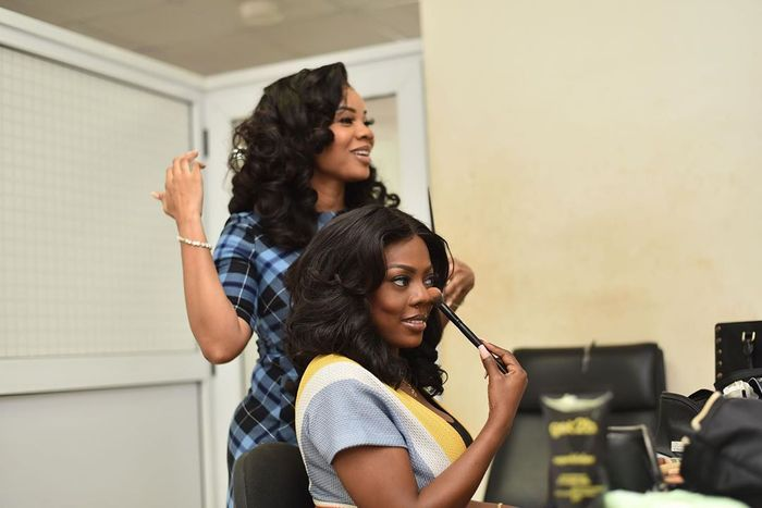 Watch All The Videos From Nana Aba Anamoah's Puppet, Serwaa Amihere's 30th Birthday Party