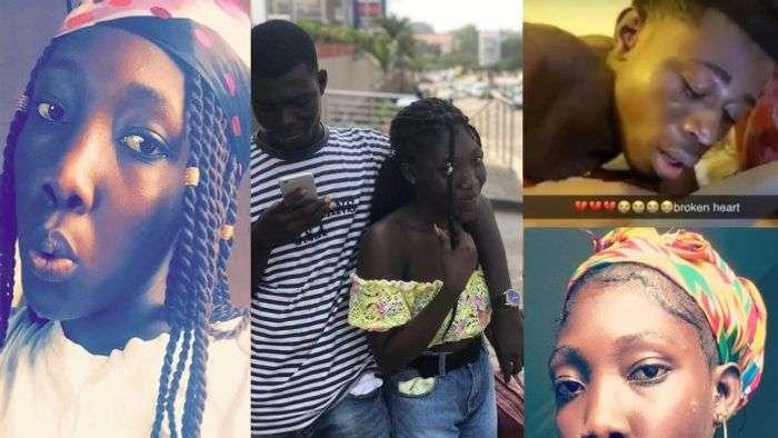 Photos Of Nana Ama, The Girl Who Broke Her KNUST Boyfriend's Heart Go Viral