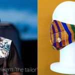 Hunger Alert: Elikem Kumordzie Is Selling Unapproved Woven Kente Face Mask For Ghc85