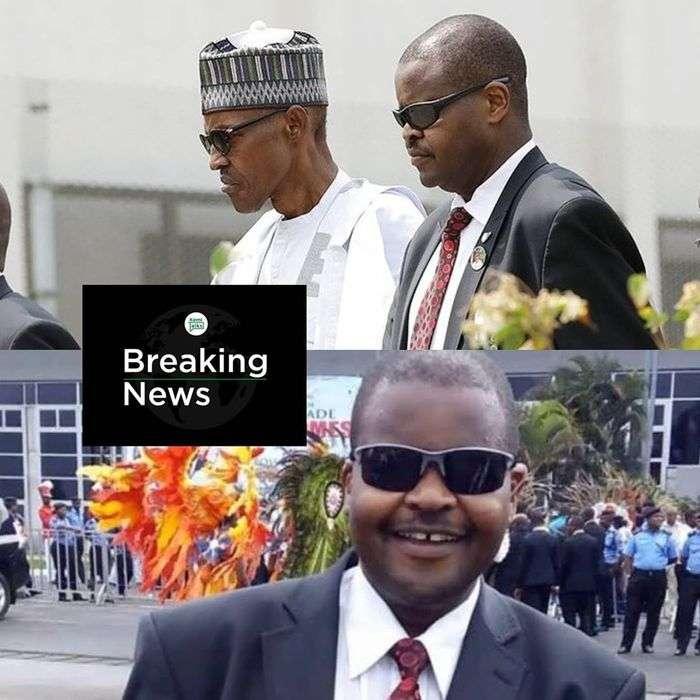 President Buhari's Personal Bodyguard Is Dead