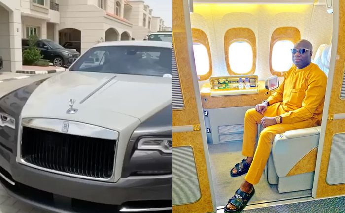 Mompha Flaunts His 50 Luxurious Cars Including A 2020 Rolls Royce Wraith viii Bespoke