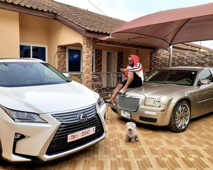 Praye Tietia Flaunts Luxury Cars On Instagram; Rented Or Borrowed Cars?