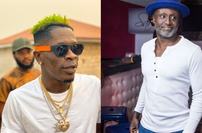 Reggie Rockstone Punches & Schools Shatta Wale; Tells Him To Wash His Hands & Brains
