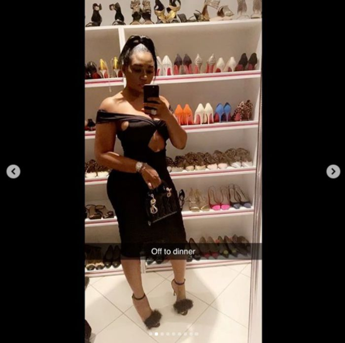 Sandra Ankobiah Wants You To Know That She Has A Lot Of Expensive Shoes & Heels