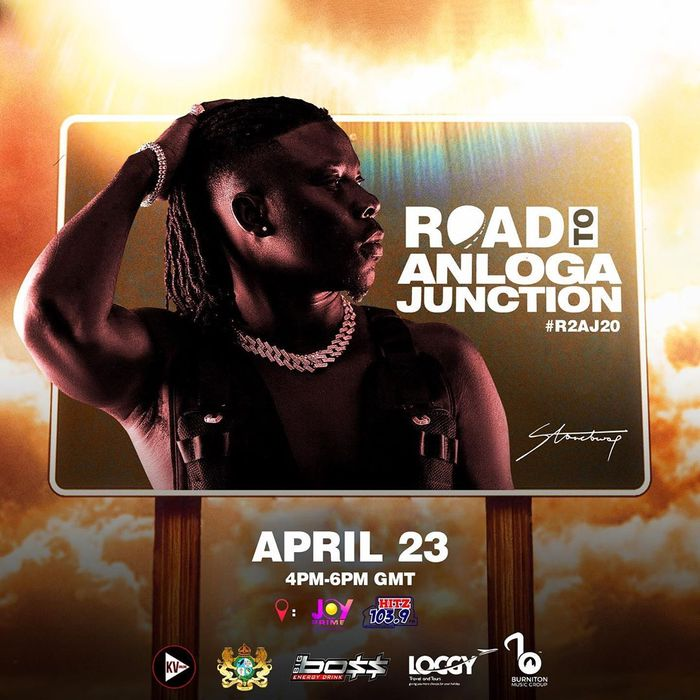 """Live Streaming Of Stonebwoy's Virtual Listening Of His """"Anloga Junction"""" Album"""