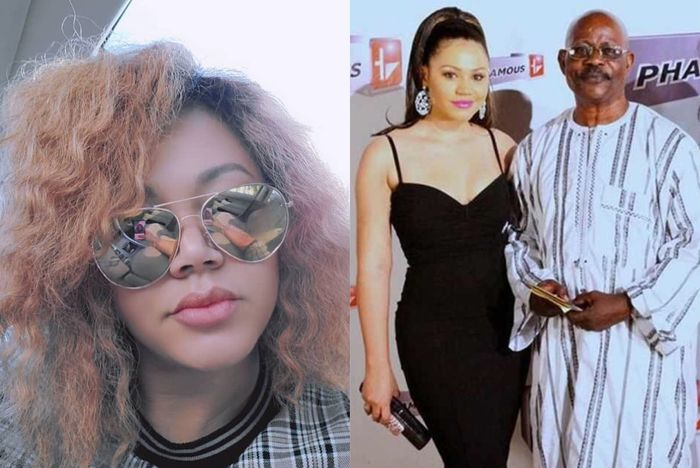 Alhaji Sidiku Buari Gets Offended After He Was Asked If Nadia Buari Is His Biological Daughter