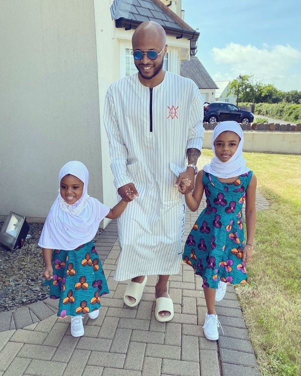 Dede Ayew Flaunts His Two Beautiful Daughters On Instagram