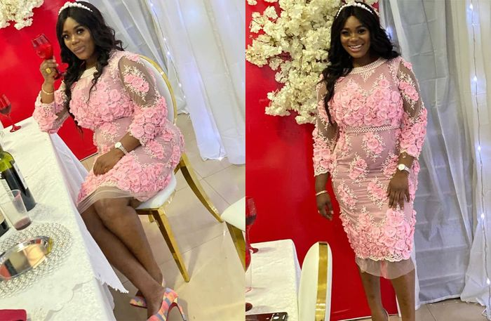 Dr Kwaku Oteng's 4th Wife, Akua GMB Deepens Divorce Rumours As She Attended Xandy Kamel's Wedding Without Her Wedding Ring On