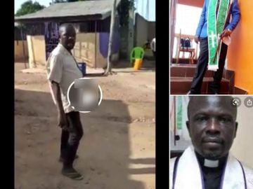 Prophet 'Apraku my daughter' Is Still Alive But Now Poor And A Street Drunkard