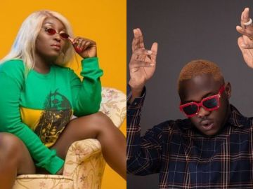 Medikal Replies Rapper Eno Barony - Says She Looks Like A Dead Body