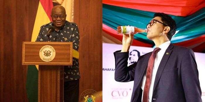 Massive Jubilation As Ghana Receives Madagascar's Herbal Cure For Coronavirus