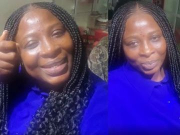 Gloria Sarfo's Face Without A Makeup Looks Scary And Could Scare The Hell Out Of Kids