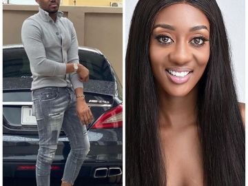 Shocking! Ibrah One And Pretty Face Regina Van-Helvert Used To Bonk Each Other?
