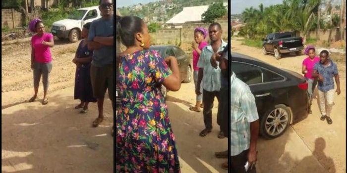 Video Of Joyce Blessing Quarrelling And Fighting With Her Sister-in-law Goes Viral