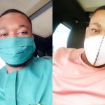 Kennedy Osei Storms Instagram With Customized Facemasks With Matching Outfits