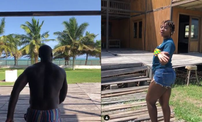 Ahuofe Patri And Kwabena Kwabena Reportedly Spending Quality Time Together At A Resort