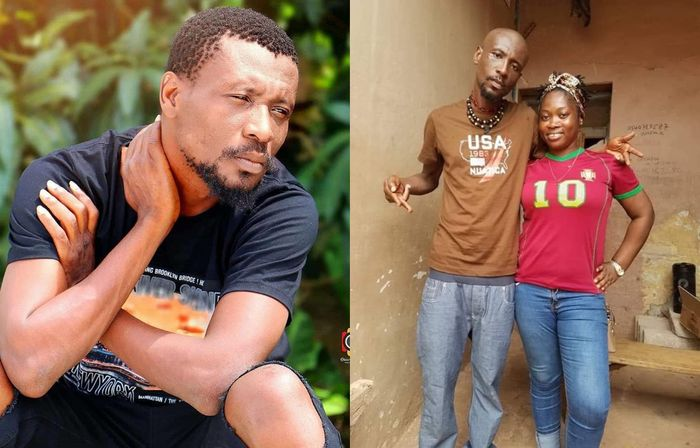 Current Photo Of Rapper Okomfuo Kwadee Looking Broke, Sick And Skinny As If He's Been Starved For 6 Months Hits Social Media - This Is Sad