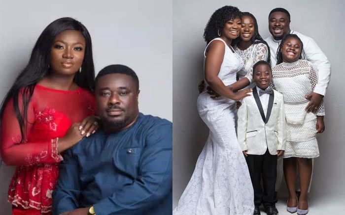 After 15 Years Of Womb-shifting, Stacy Amoateng And Husband, Okyeame Quophi Celebrate 15th Marriage Anniversary