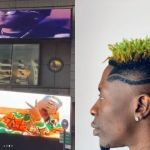Shatta Wale Jubilates After Being Featured On New York Times Square Giant Poster