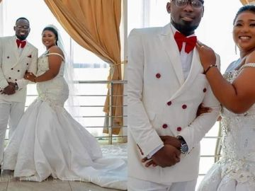 More Glam Photos From Xandy Kamel's White Wedding With Kaninja
