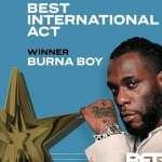 Burna Boy Is 2020 BET Awards Best International Act - Full List Of Winners