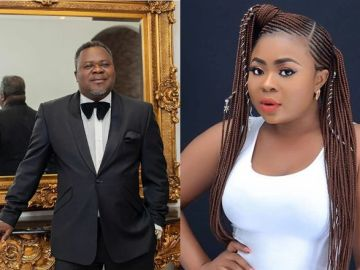 Slay Queen On Billboards Of Adonko Bitters Curses Her Ovaries And Entire Generation If She Ever Got The Deal By Sleeping With Dr Kwaku Oteng