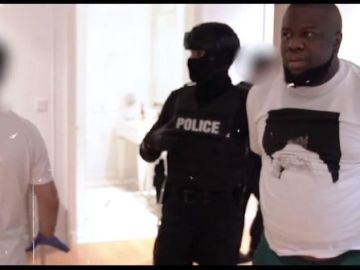 Dubai Police And Interpol Release A Scary Footage Of How Hushpuppi And His Crew Were Arrested