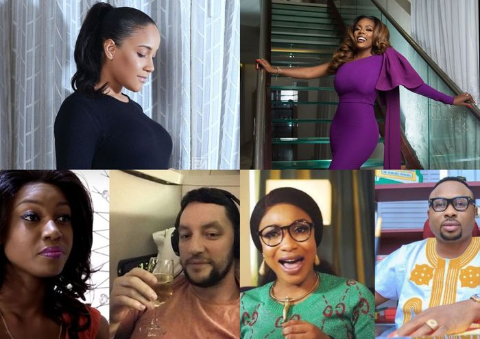 Yvonne Nelson, Nana Aba Anamoah And Other Celebrity Baby Mamas Who Never Wished Their Baby Daddies On Father's Day