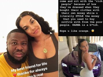 Hushpuppi's Girlfriend, Amirah Dyme Shades And Distances Herself From Him After He Was Arrested By FBI And Interpol Over $35 Million Fraud
