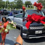 Nana Aba Anamoah Gets A Brand New Range Rover As Her 42nd Birthday Present