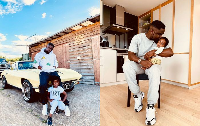 Sarkodie Finally Posts A Photo Of His Ghanaian-US born Son And Reveals His Name