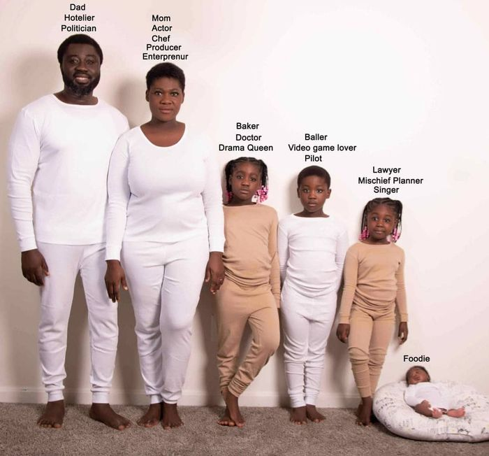 Super-stunning Family Photos of Mercy Johnson, Husband, And Adorable Kids Goes Viral