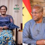 John Dramani Mahama Confirms Professor Naana Jane Opoku-Agyemang As Her Running Mate For The December 2020 Election