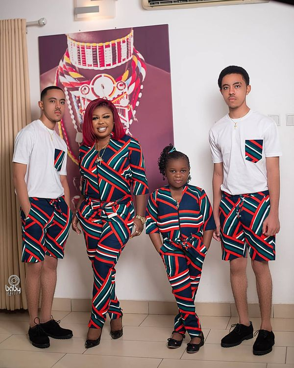 Afia Schwar Flaunts Her Ashaiman-born Twins And Adorable Daughter On Instagram