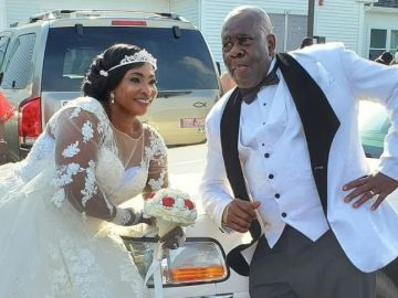 Check Out Stunning Photos Of Kyeiwaa's White Wedding In The United States