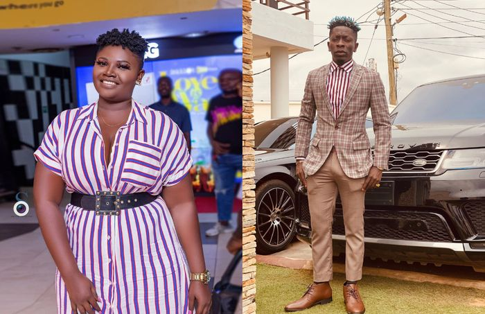 Actress Safina Haroun Wishes To Bonk Shatta Wale But Scared Of The Heavy Load In His Boxer Shorts