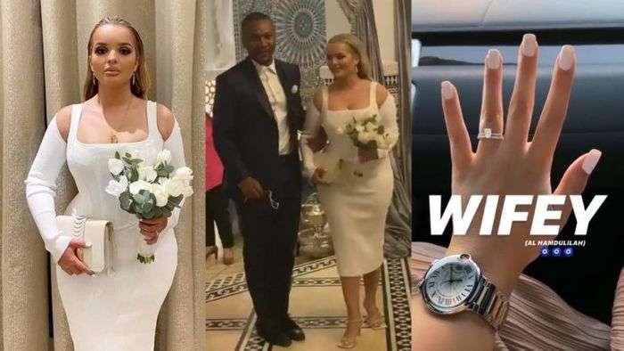 Watch The Official Video Of John Mahama's Son, Shafik And Algerian Girlfriend's Lavish Wedding In Dubai