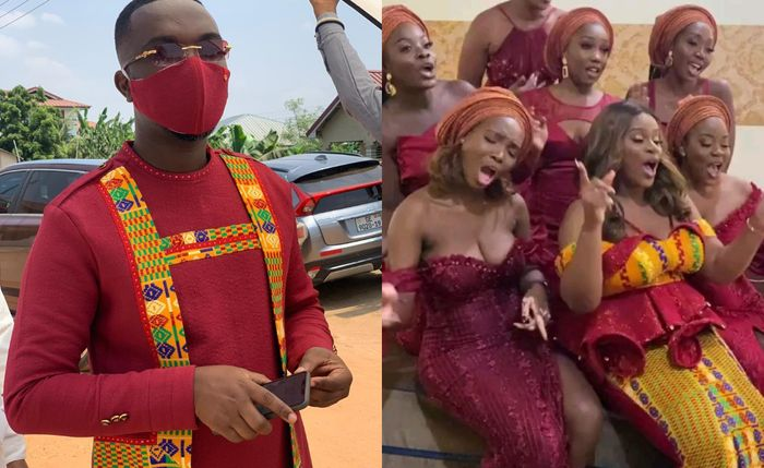 Another Set Of Videos From Joe Mettle And Selasie Dzisa's Traditional Marriage Ceremony Drop