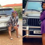 PHOTO: Afia Schwar Says Her Dog Business Is Booming As She Flaunts A Customised Honda CRV Sports Car On Instagram