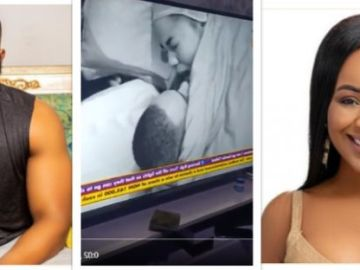 VIDEO: BBNaija Erica And Kiddawaya Caught On Camera Bonking Each Other
